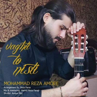 Mohammad Reza Amoee - Vaghti To Nisti