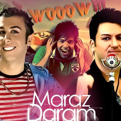 Ashkin 0098 & Keyvan Baharloo & Alirezaz - Maraz Daram