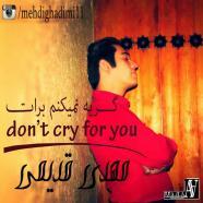 مهدی قدیمی - گریه نمیکنم برات